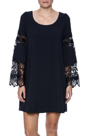 HYFVE Navy Boho Dress - Product Mini Image