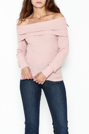 HYFVE Lace Up Back Sweater - Front cropped