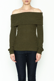HYFVE Lace Up Back Sweater - Front full body