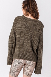 HYFVE Olivelious Sweater - Back cropped