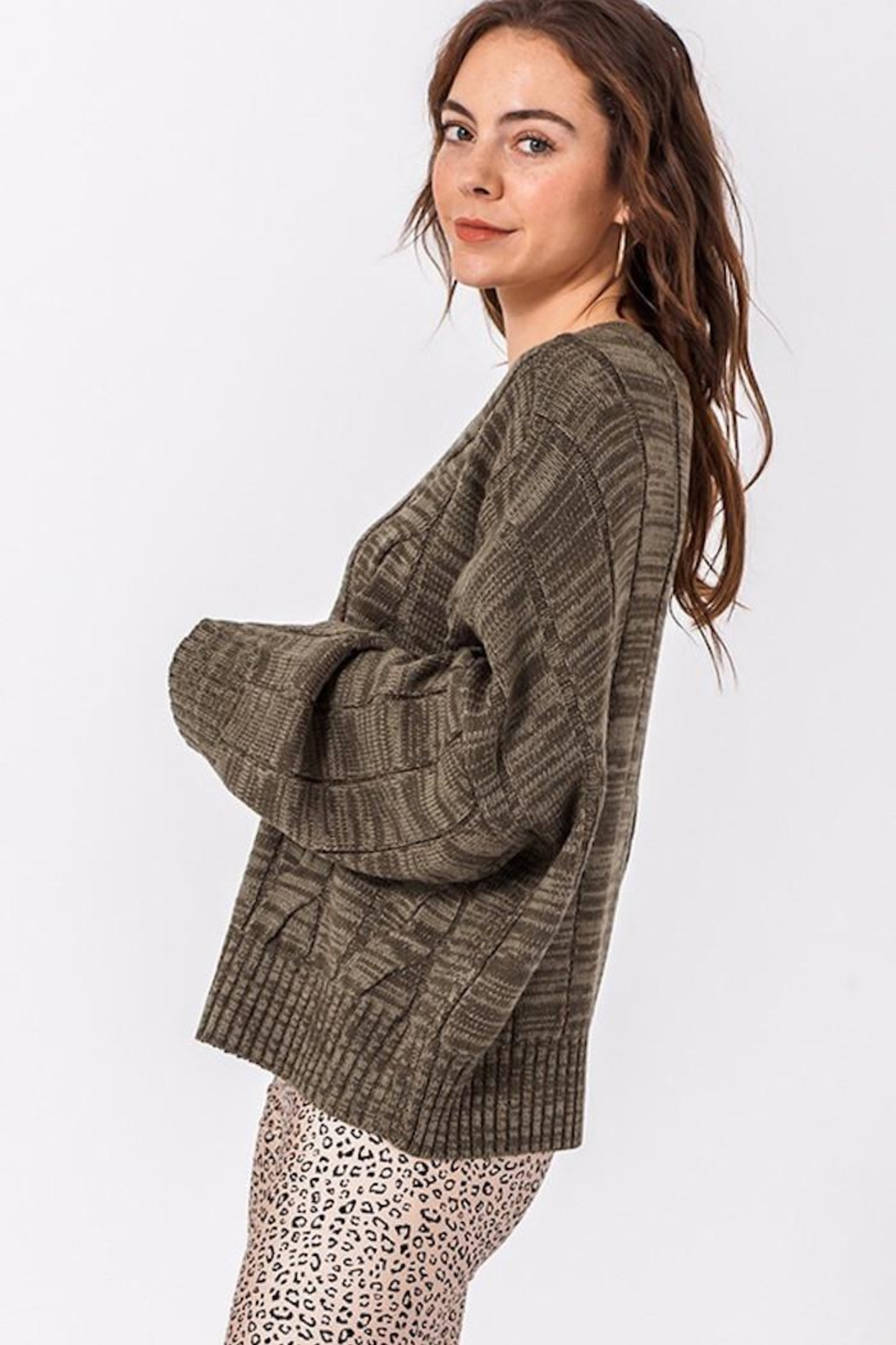 HYFVE Olivelious Sweater - Side Cropped Image