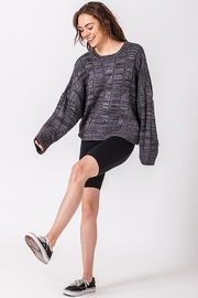 HYFVE Cloudy Night Sweater - Front cropped