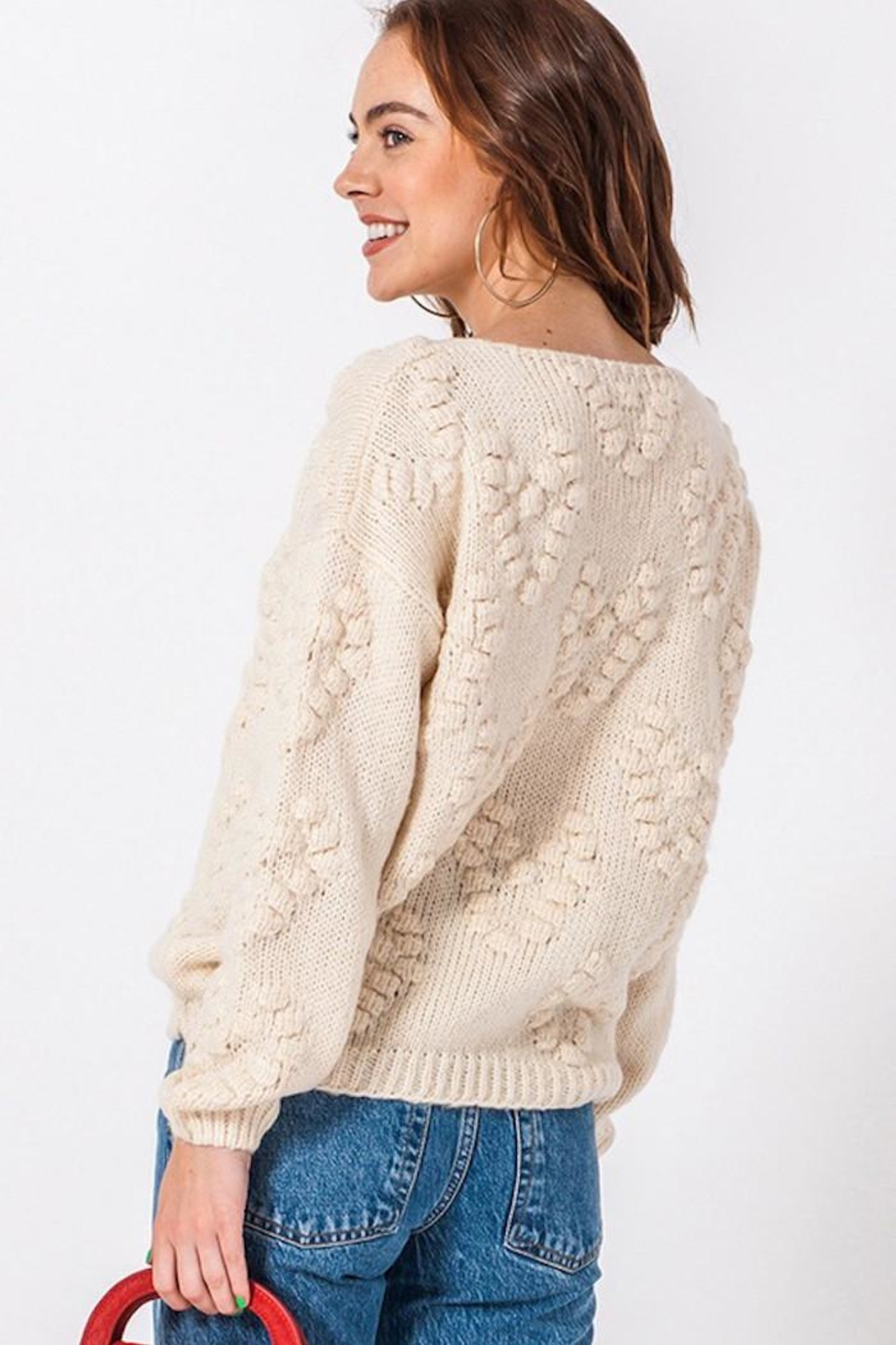HYFVE Our Today Sweater - Back Cropped Image