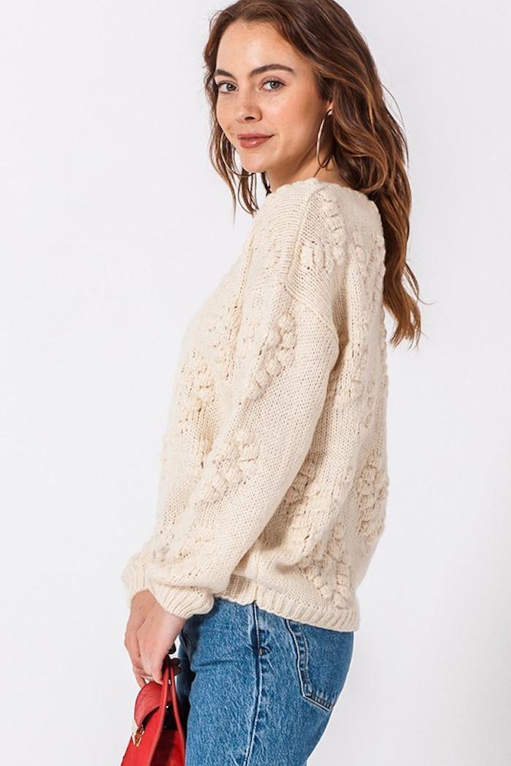 HYFVE Our Today Sweater - Side Cropped Image