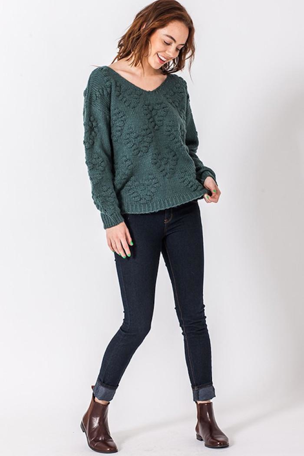 HYFVE Our Today Sweater - Front Cropped Image