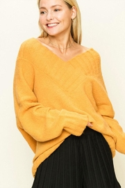 HYFVE Oversize V-Neck Sweater - Product Mini Image
