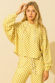 HYFVE Oversized Balloon Sleeve Hoodie - Front cropped