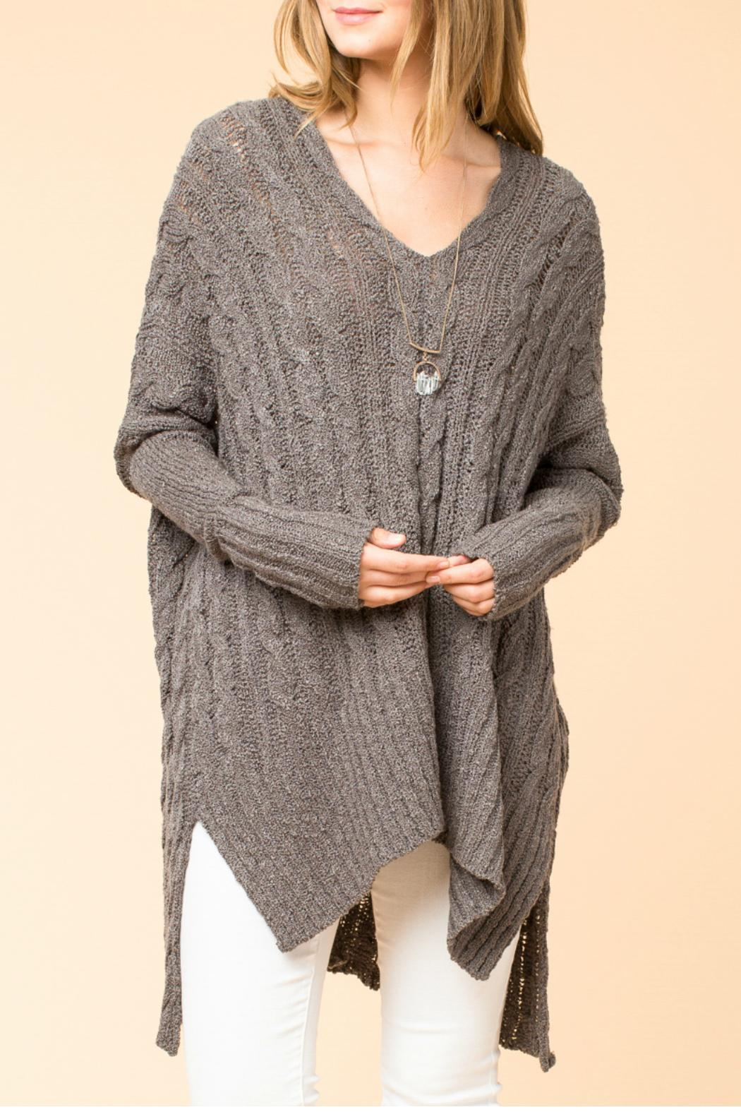 HYFVE Oversized Cable Knit Sweater from Branford by Polished ...