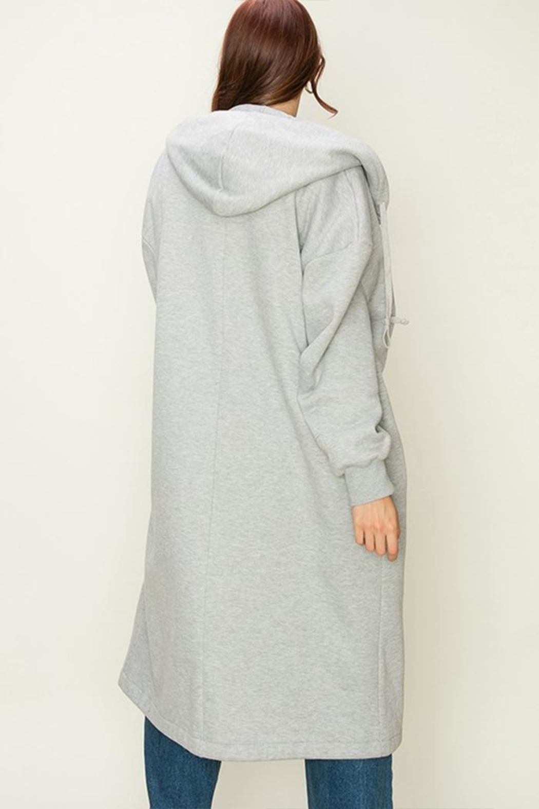 HYFVE Oversized Hooded Cardigan - Side Cropped Image