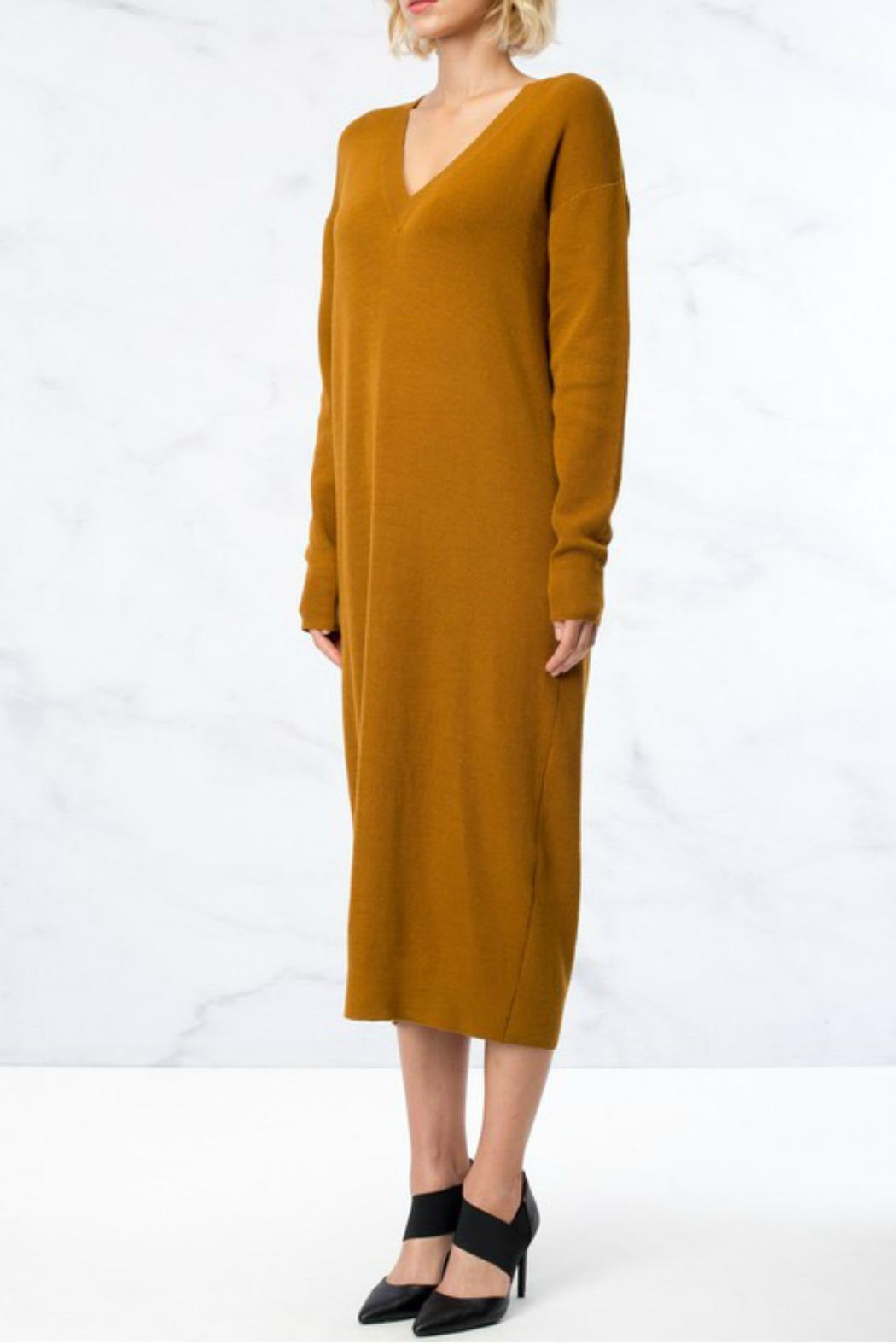 Hyfve oversized sweater dress from maryland by velvet for Sweater over wedding dress