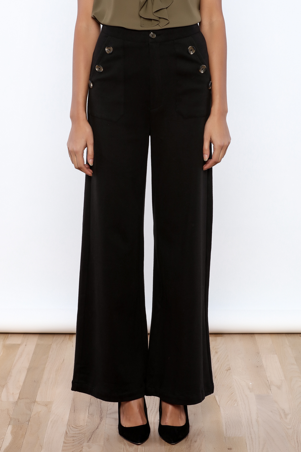 HYFVE High Waisted Pant - Side Cropped Image