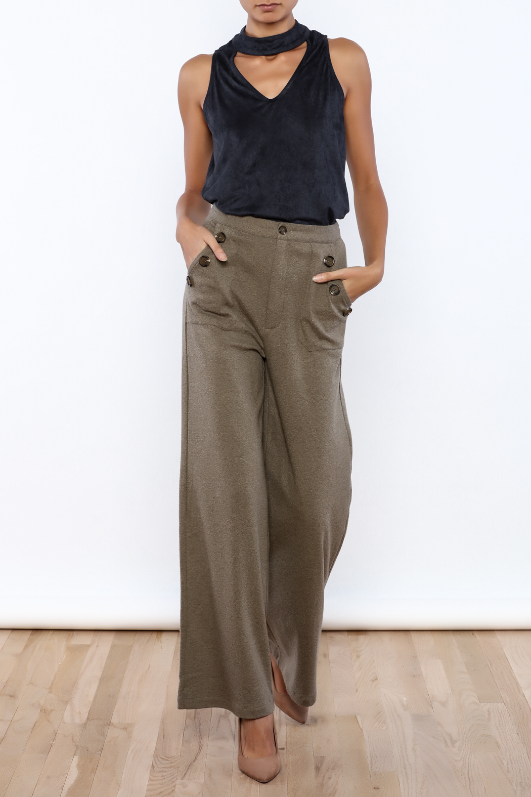 HYFVE High Waisted Pant - Front Full Image