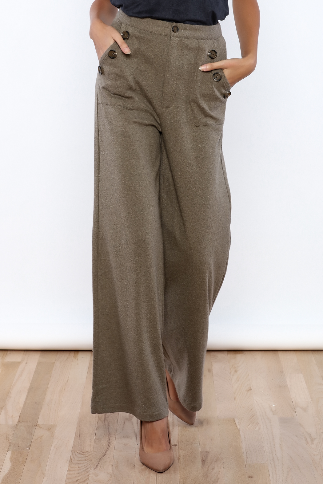 HYFVE High Waisted Pant - Front Cropped Image
