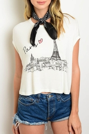 HYFVE Paris White Top - Product Mini Image