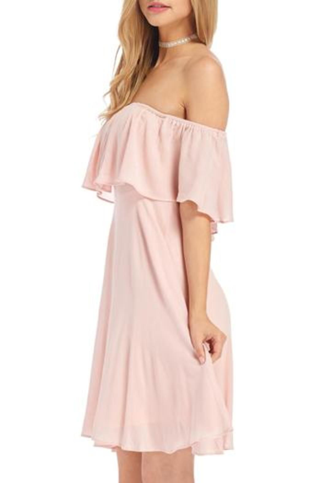 Hyfve Pink Off Shoulder Dress From Wisconsin By Apricot