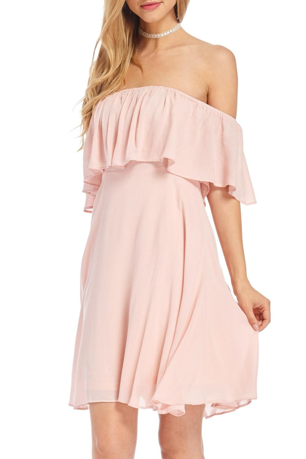 HYFVE Pink Off Shoulder Dress from Wisconsin by Apricot Lane - Wisconsin Dells u2014 Shoptiques