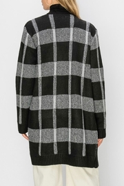 HYFVE Plaid Maxi Open-Sweater - Side cropped