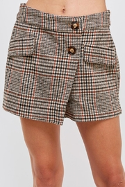 HYFVE Plaid Mini Shorts - Product Mini Image