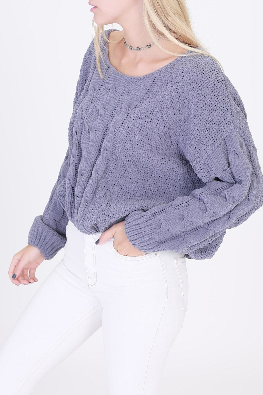 HYFVE Pullover Cropped Sweater - Main Image