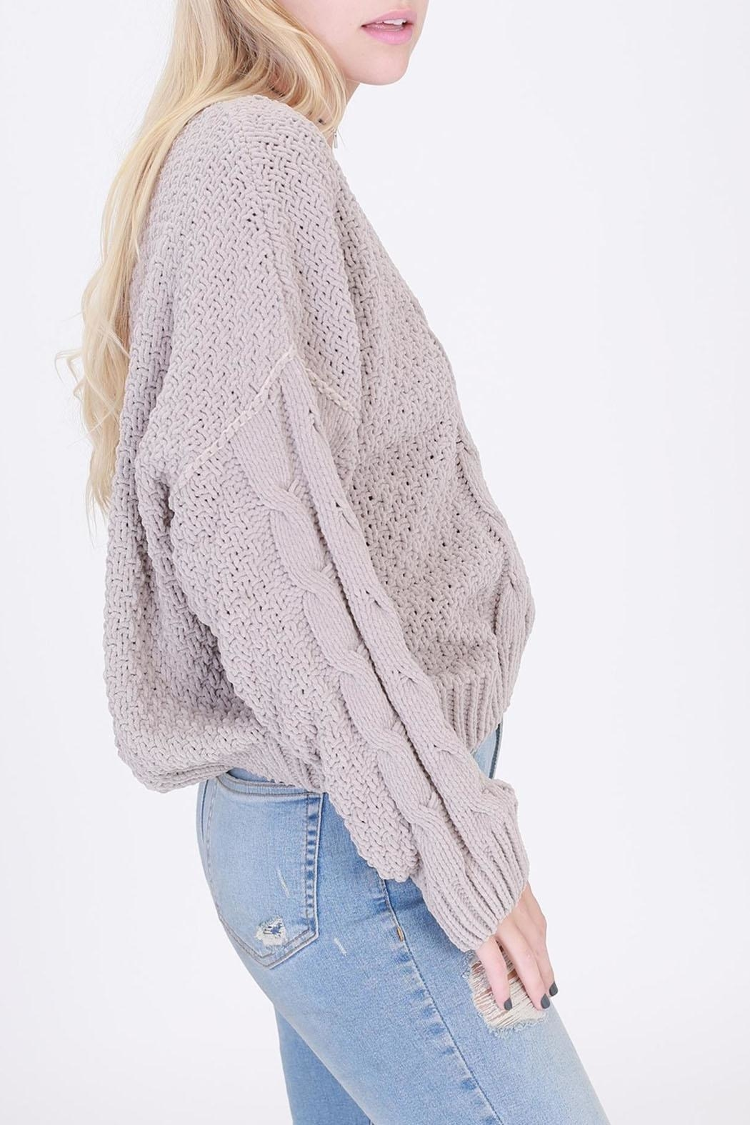 HYFVE Pullover Cropped Sweater - Side Cropped Image