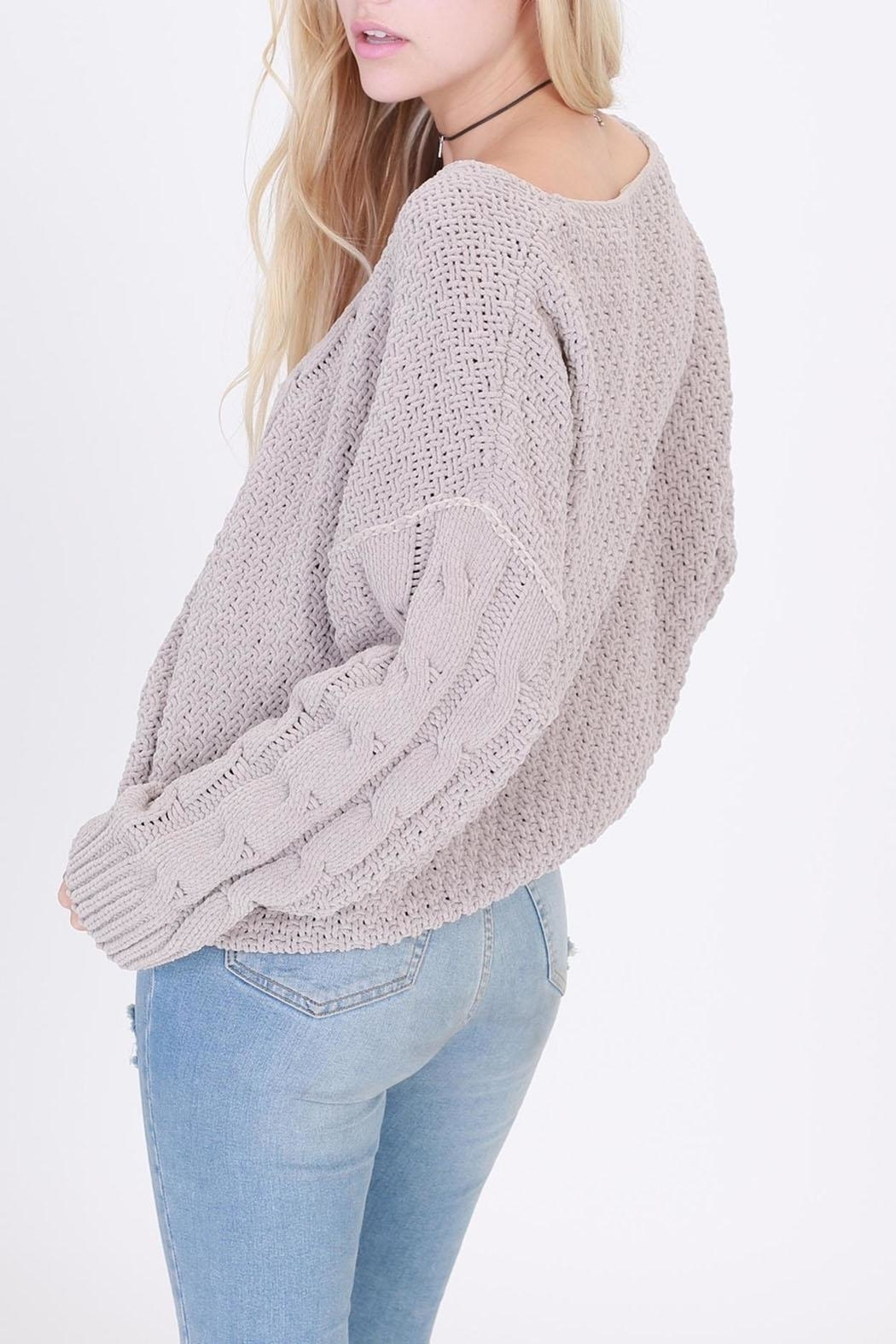 HYFVE Pullover Cropped Sweater - Front Cropped Image