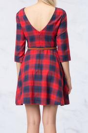 HYFVE Plaid Dress - Front full body