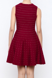 HYFVE Red Dress - Back cropped