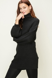 HYFVE Ribbed Turtleneck Tunic - Front cropped