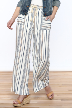 Shoptiques Product: Wide Leg Stripe Pants