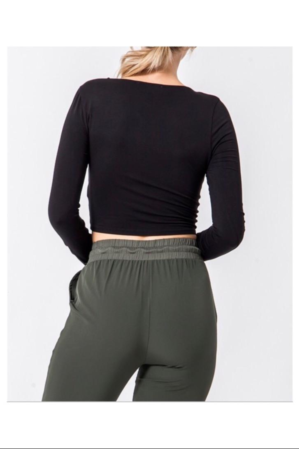 HYFVE Ruched Front Top - Front Full Image