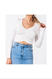 HYFVE Ruched Front Top - Front cropped