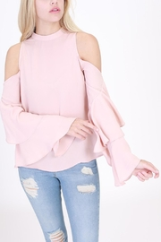 HYFVE Ruffle Sleeve Top - Front cropped