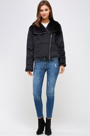 HYFVE Shawl Puffer Jacket - Front full body