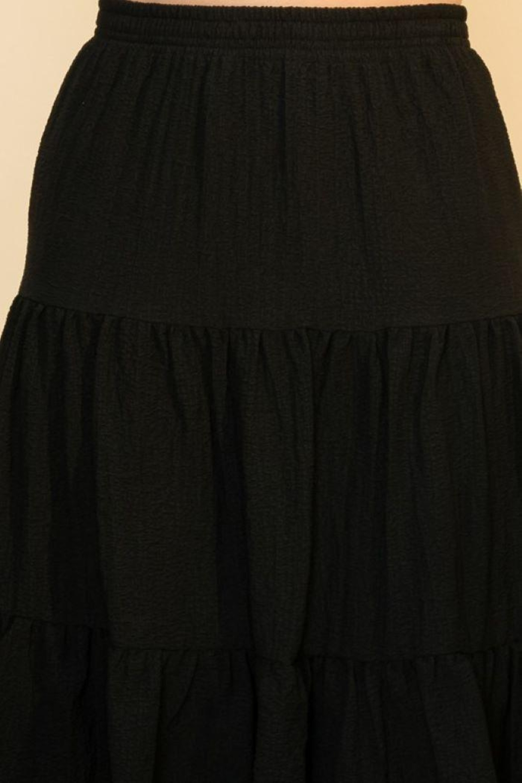 HYFVE Shirring With Ruffle Skirt - Front Full Image