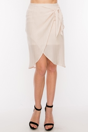 HYFVE Side Tie Skirt - Front cropped