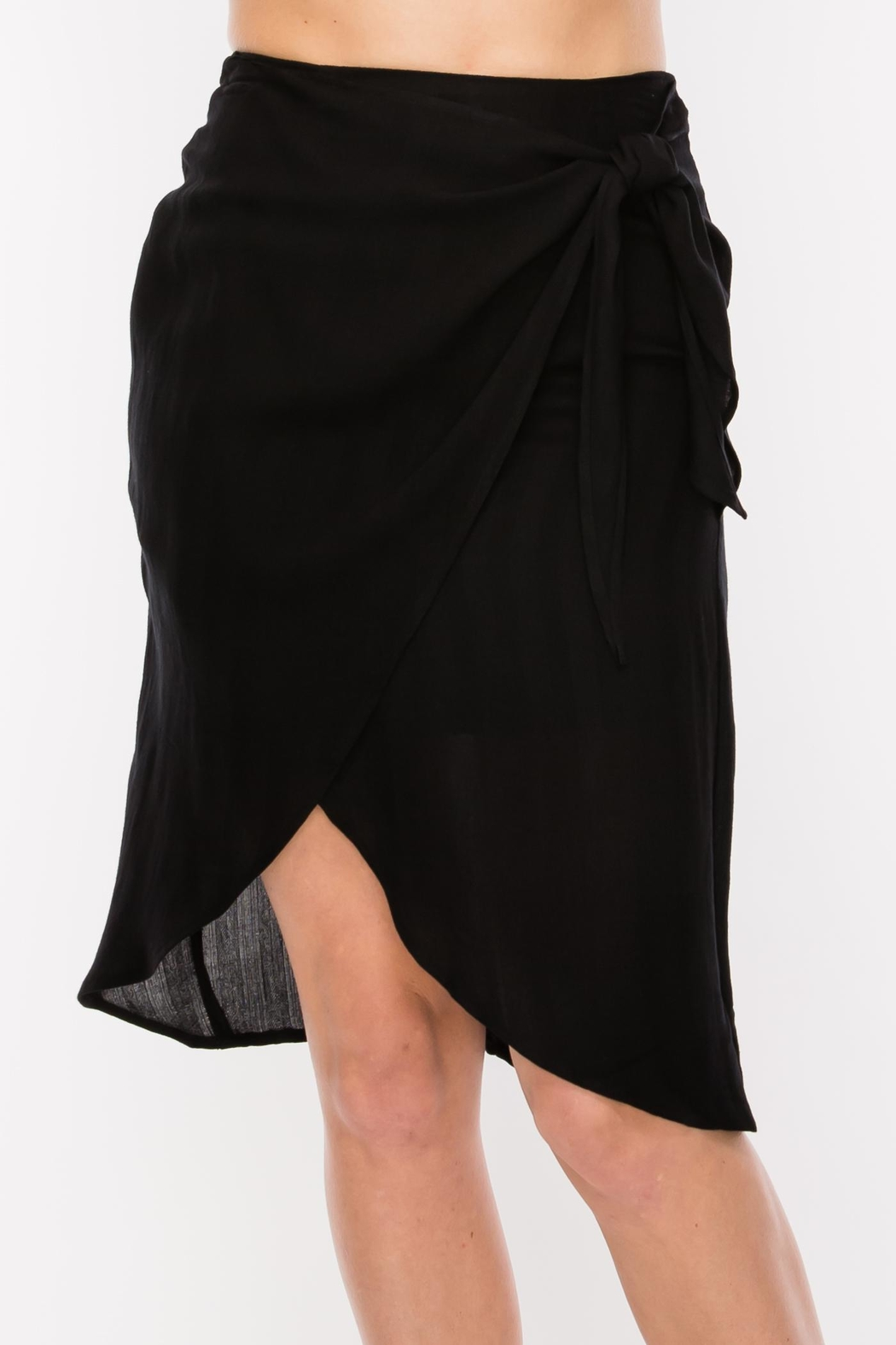 HYFVE Side Tie Skirt - Front Cropped Image