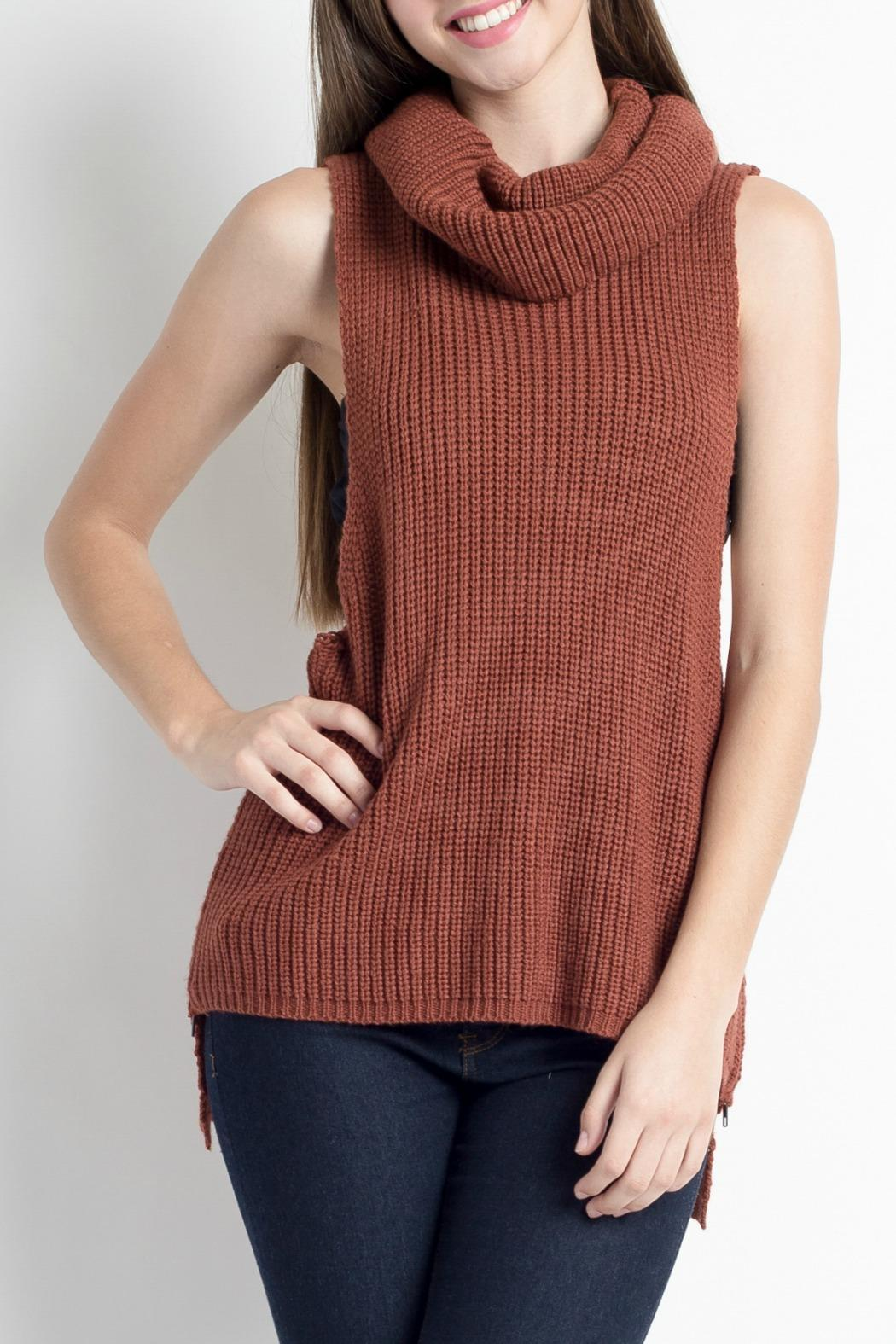 HYFVE Sleeveless Cowlneck Sweater from New Jersey by Making Waves ...