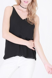 HYFVE Strappy V Neck Top - Product Mini Image