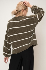 HYFVE Striped Chenille Sweater - Product Mini Image