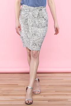Shoptiques Product: Stripe Knee Skirt