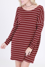 HYFVE Striped T-Shirt Dress - Product Mini Image