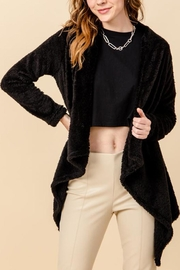 HYFVE Teddy Waterfall Cardigan - Front cropped
