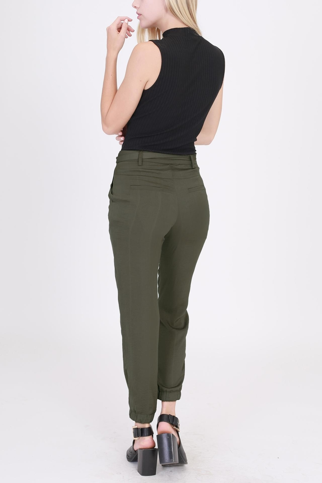 HYFVE Tie Front Pants - Side Cropped Image