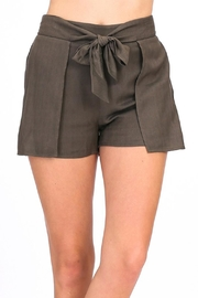 HYFVE Tie Front Shorts - Product Mini Image