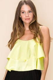 HYFVE Tiered Ruffle Cami - Front cropped