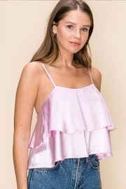 HYFVE Tiered Ruffle Cami - Front full body