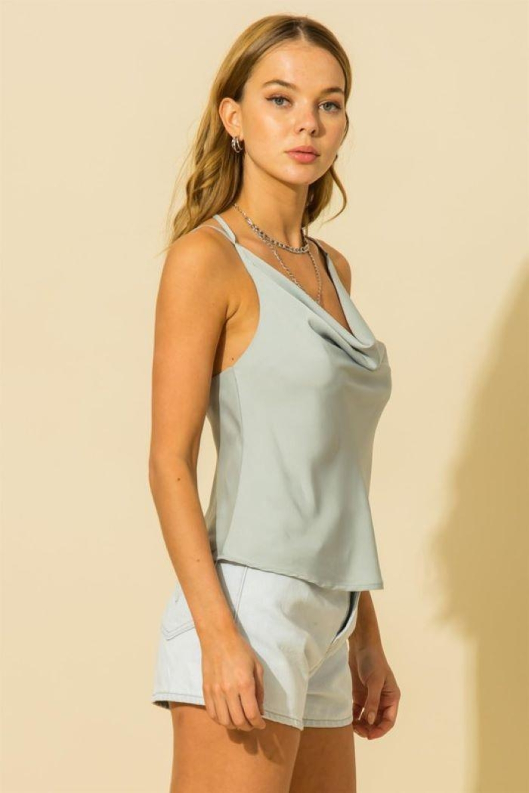 HYFVE Two Strap Cami Top - Front Full Image