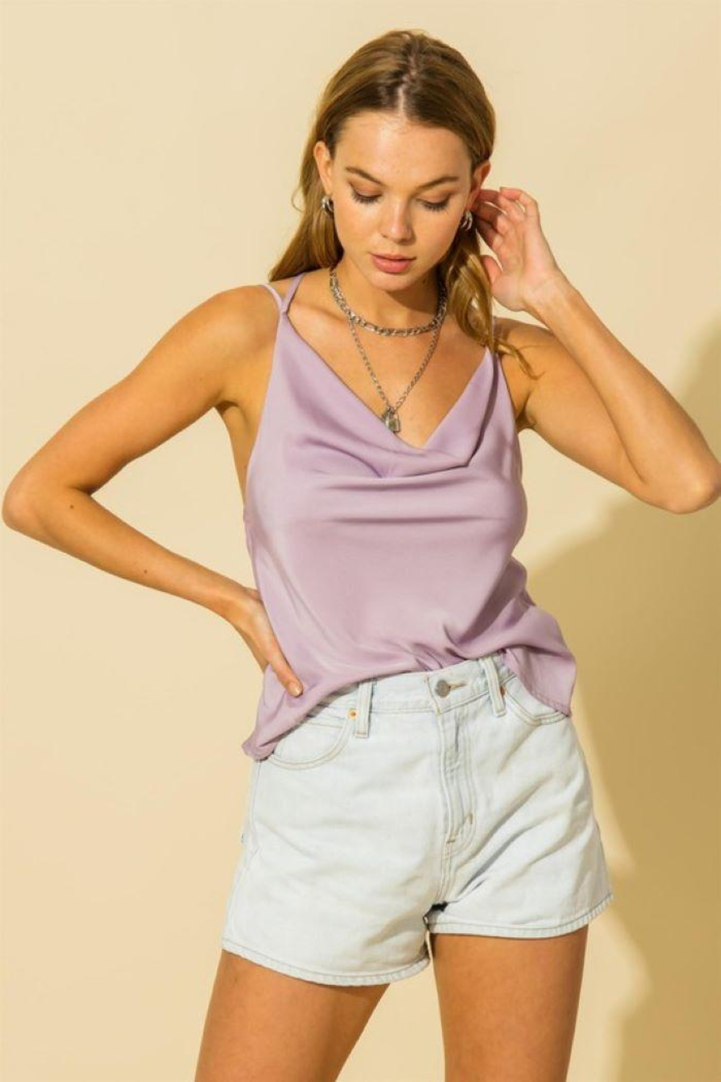 HYFVE Two Strap Cami Top - Main Image