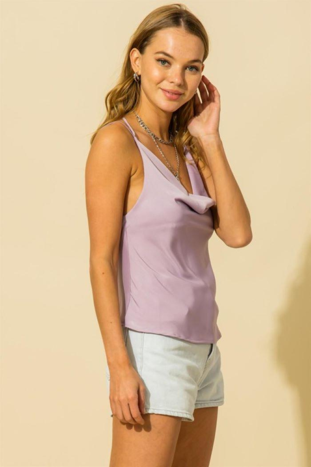 HYFVE Two Strap Cami Top - Side Cropped Image
