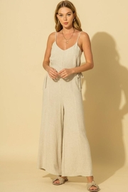 HYFVE V-Neck Jumpsuit With Side Tie - Product Mini Image